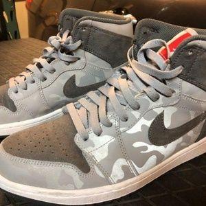 NWOT!Men's Camo Air Jordan's
